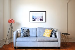 Remortgaging - Living room sofa